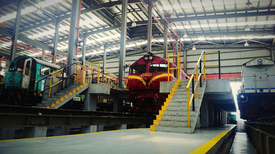 Trains Depot Train Rail