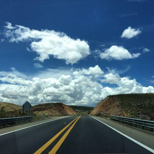 Sky Road Marking The Way Forward Transportation Asphalt