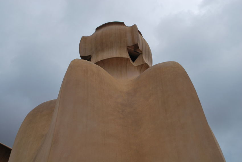 Architecture Art And Craft Barcelona Barcelona, Spain Casa Mila ( La Pedrera ) Casa Milà Gaudì Cloud - Sky Day Gaudi Human Representation Low Angle View No People Outdoors Sculpture Sky Statue