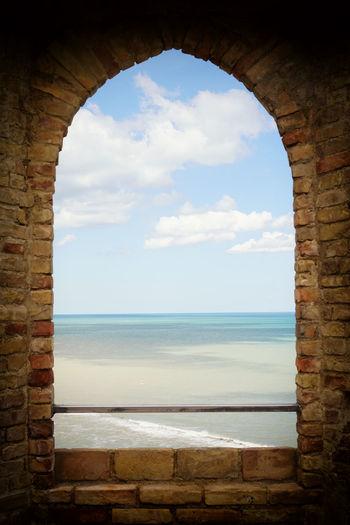 Architecture Castle Day No People Ortona Ortona Abruzzo Ortona Castello Aragonese Port Sea Sky