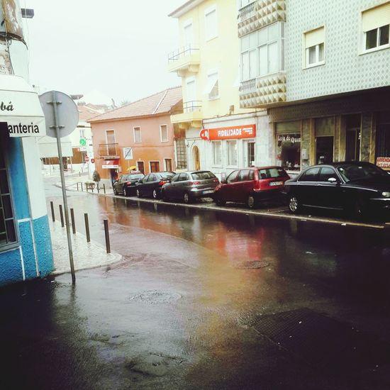 Póvoa De Santa Iria My Best Photo 2014Street Photography Rainy Day