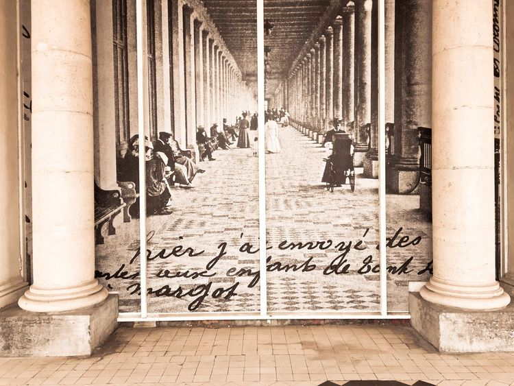 Memory Architecture Built Structure Text No People Outdoors Day Thermae Ostend Belgium Photo