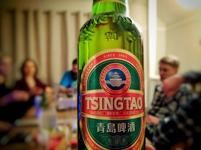 New Year's Eve celebrations with friends! New Years Eve Friends ❤ Tsingtao EyeEm Best Shots Beer Cardsagainsthumanity Great Time