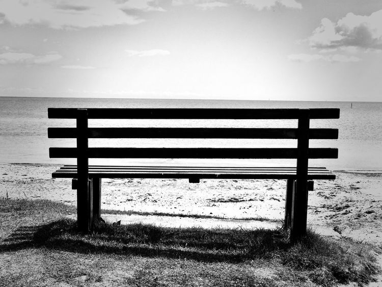 Sun Bank Sea Sky Wood - Material Beach Nature Tranquil Scene Sand Day Outdoors Horizon Over Water No People Water Sunlight Beauty In Nature