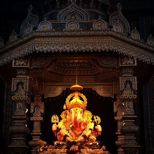Ganesotsav GanpatiBappa Shrimanthshreedagdusethhalwaiganpati Dagduseth Halwai Iphonegraphy