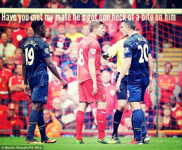 Gerrard is the Boss Anfield Liverpool Soccer