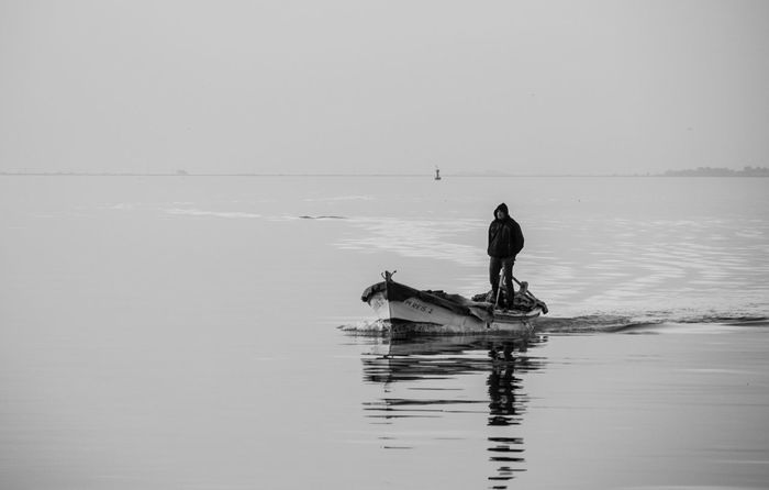 Sea Blackandwhite Ship Fisherman Turkey Türkiye EyeEmBestPics EyeEm Best Shots EyeEm Nature Lover EyeEm Photo Photooftheday Photography Photoshoot Canon Canon60d Canonphotography Seaside Alone