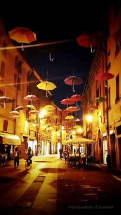 Umbrellas invasion Taking Photos Awesomeplace Walking Around Awesomepic Umbrellastreet Umbrellas Colors