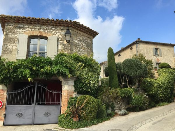 France Occitanie Gard Lussan Village Enjoying Life Travel Destinations Building Exterior Architecture Built Structure Plant Building No People Tree Outdoors Growth Sky Nature Day Architectural Style
