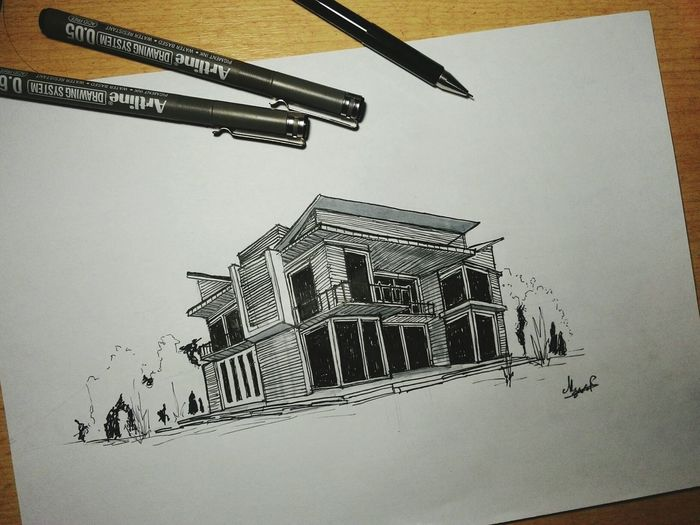 Never lose hope in love Waiting For Love Architecture Sketch Artline ArtWork