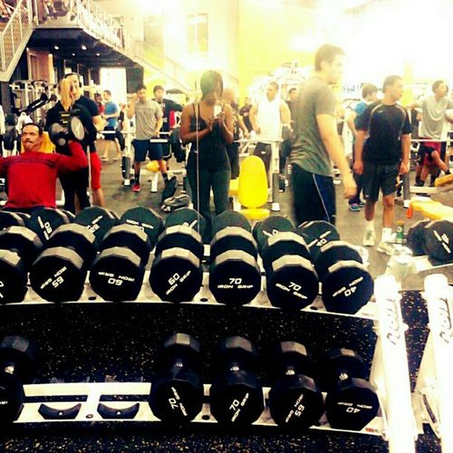My fiance and I got down on some free weights! #gb3 #gym #workout #weightliftng Weightliftng Fitsperation Workout Gym Fitness Weightloss Fit GymRat Fitspo Workit Gymrats Gb3 Feeltheburn