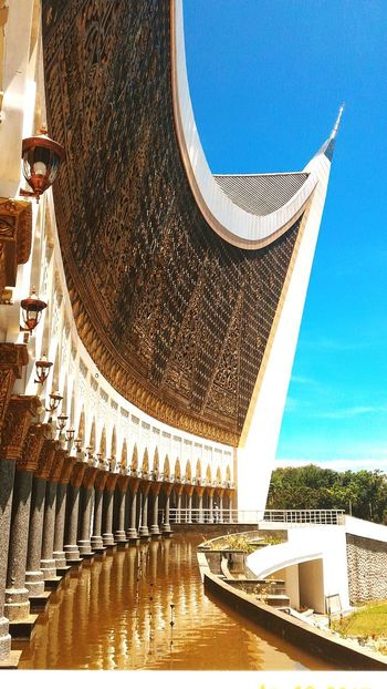 Great Mosque West Sumatera No People Building Exterior INDONESIA