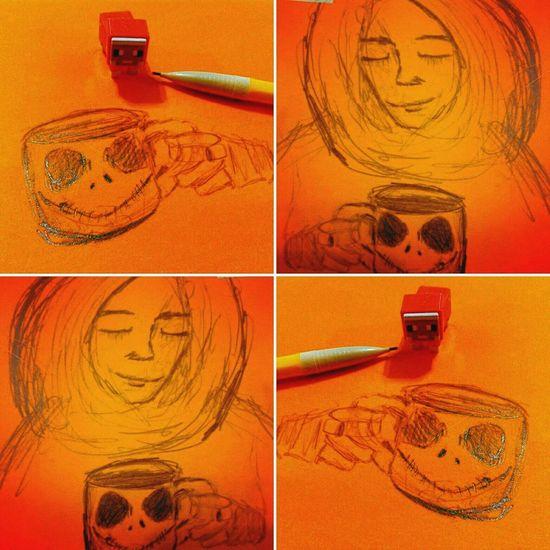 Zen Happy Halloween Halloween Jack Skellington Coffee ☕ Hello World