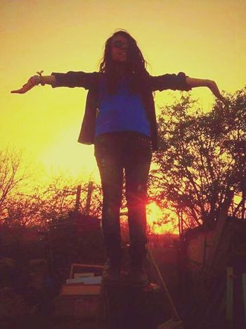 Sunshine ☀ Nature Is Freedom Be Who You Are