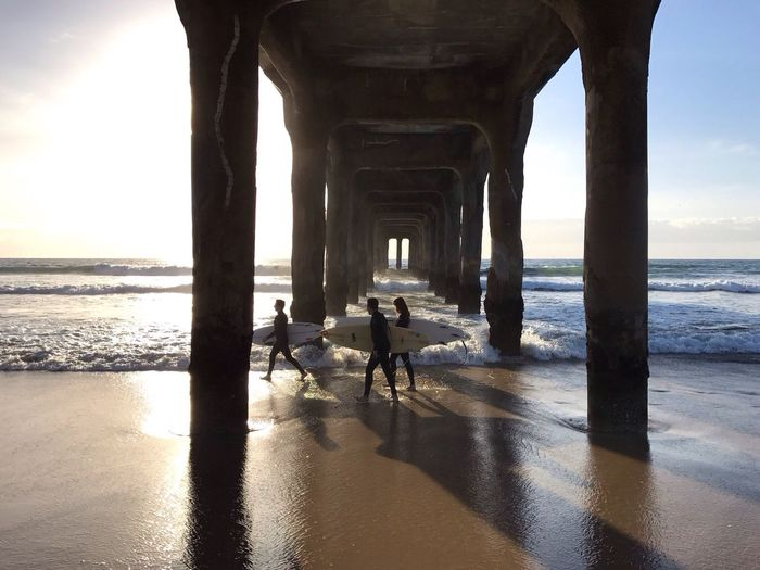 """Surf is Life"" Iphone7 Manhattan Beach Pier Surf Photography Smartphone Photography Everybodystreet People Watching Water Beach Life Los Angeles, California City Life Surflife Surfing Paradise Iphonephotography IPhone Photography"