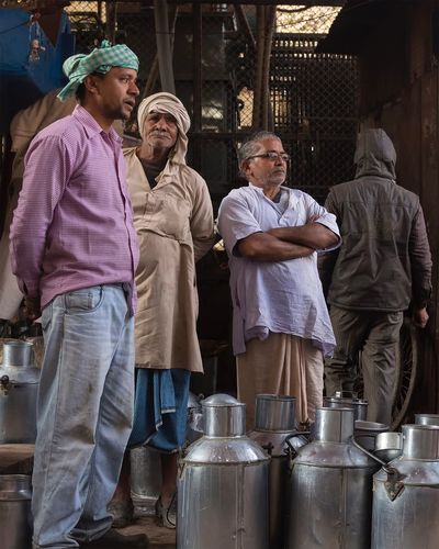 Milk market in Varanasi Uttar Pradesh. January 20, 2017. People Real People Incredible India Varanasi Indian EyeEm Best Shots - People + Portrait Travel Photography Check This Out Storytelling People Photography India Travel Portrait Street Photography Documentary Streetphotography Occupation Working Market