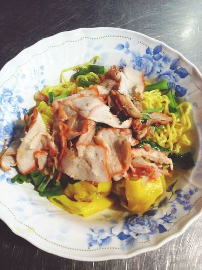 Noodles Noodles Food Cuisine Thai Food Chinese Food Red Pork Dimsum Delicious ♡ Yummy Food Bolw Eat