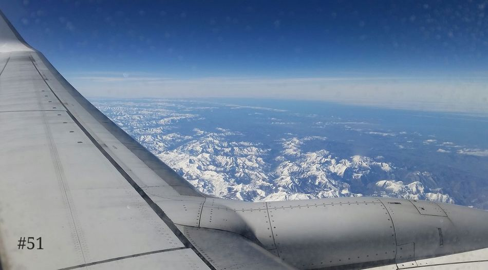 Crossing between Spain and France over the Pyrenees, a slight contrast to our week in the relative sunshine Heading Home Flying High Pyrenees Snow Flight Home Spain/France Boarder Photo Of The Day 365project