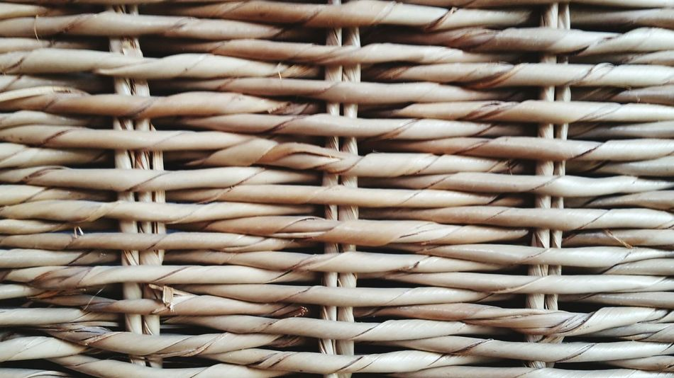 Basket Weave Banana Leaves Weaving Basket Pattern Textures And Surfaces Beautifully Organized