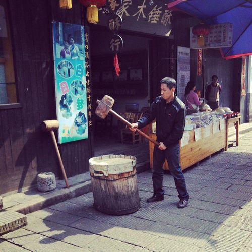 靖港古镇 特产木锤酥