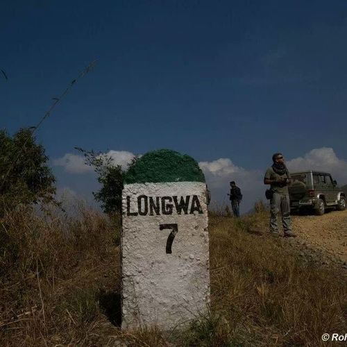 Long way to Longwa :) Beautiful place. IndiaTrail Landscapes With WhiteWall