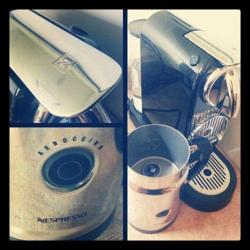 EarlyChristmasGift yeaaaa boiii. Nespresso Aeroccino