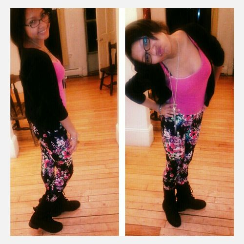 Last night ^_^