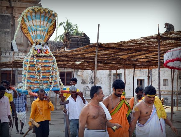 Life In A Temple Hampi  Religious Processions Celebrating Religion People Photography Hindu Priests