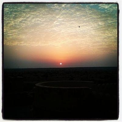 Sunrise @ Suryagarh Jaisalmer Desert Rajasthan India .. A Very Good Morning