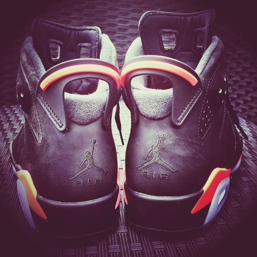 My jojo's 6 infrared ? i love this Sneakers Sneakers SneakerFreaks Jordan Jordans On My Feet  Air Jordan Air Jordan 6