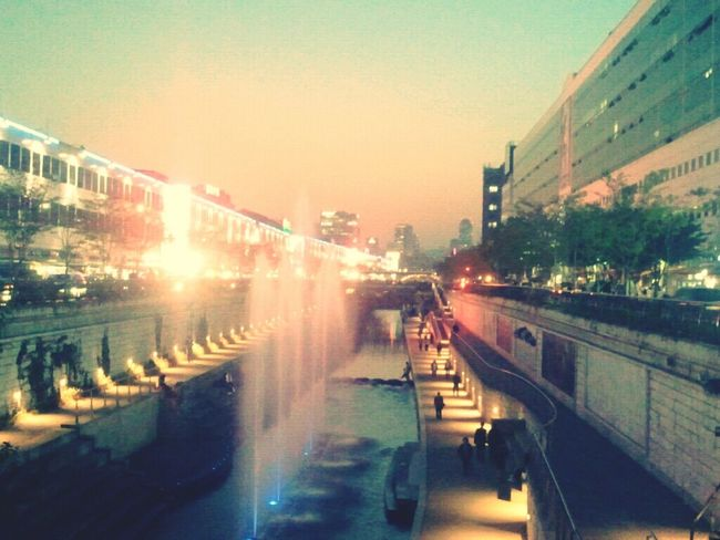 청계천 In Seoul Korea