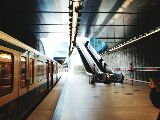 U-Bahn Muenchen Holiday First Eyeem Photo