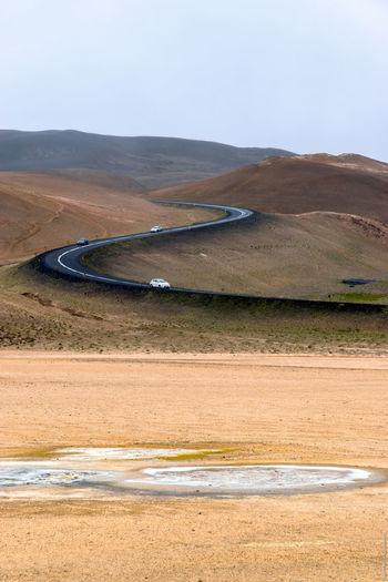 Hverir Geothermal  Hverir Iceland Volcano