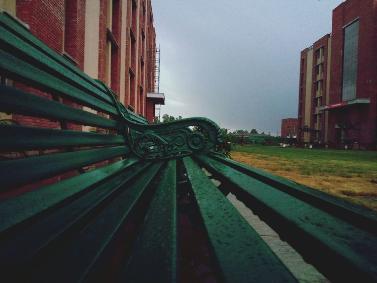 Seats Seatbench Building College Builing RainyDay