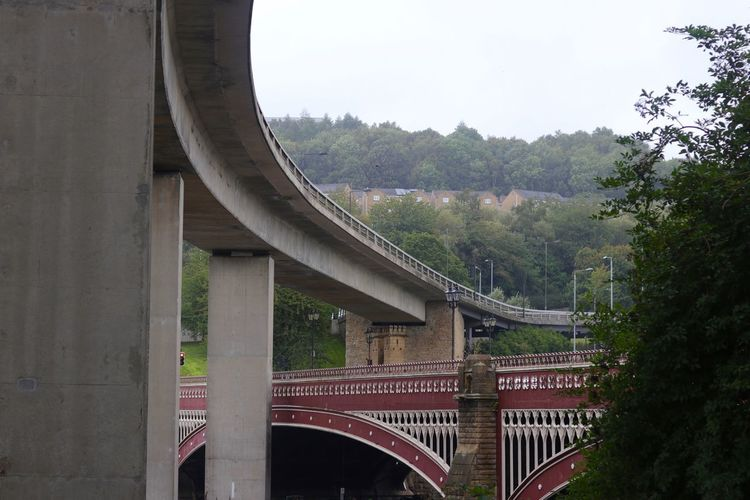 Halifax Uk Arch Arch Bridge Architectural Column Architecture Bridge Bridge - Man Made Structure Building Exterior Built Structure Connection Day Engineering Growth Multiple Lane Highway Nature Outdoors Overpass Plant Railway Bridge Sky Transportation Tree