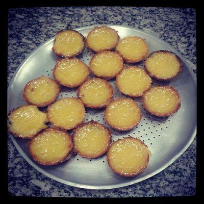 Pastelzinho de Belém caseiro da @angelarogado HEUEHEUEHEU Sweet