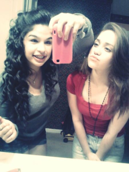 With My Cousin Yesterday Before The Movies<33(: