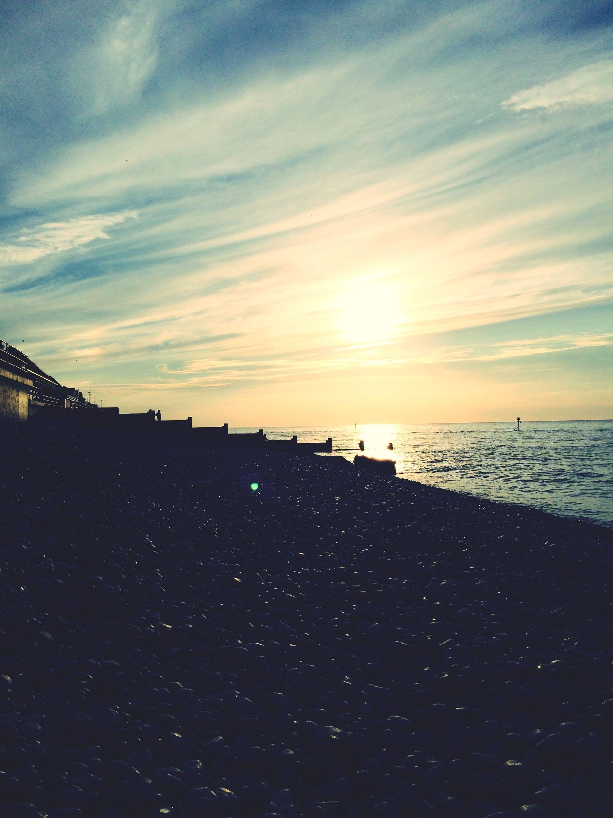 sea, sunset, water, sky, silhouette, horizon over water, scenics, cloud - sky, tranquil scene, beauty in nature, tranquility, nature, cloud, idyllic, beach, dusk, outdoors, orange color, shore, sun