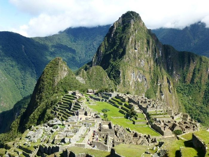 Mountain Mountain Range Scenics - Nature History Landscape The Past Environment Outdoors Mountain Peak Machu Picchu Ruins