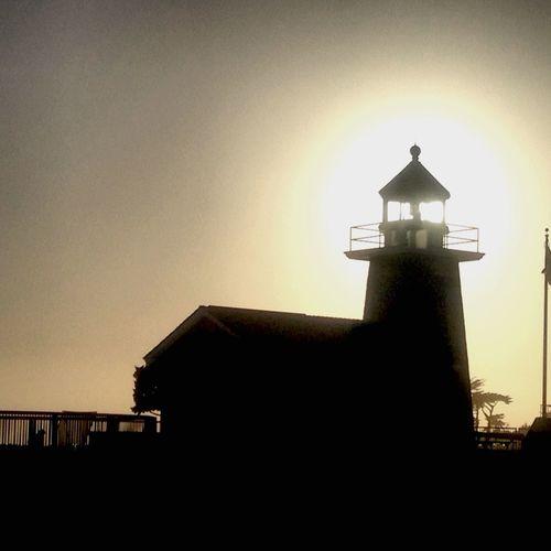 Santa Cruz , California USA Highlight Of The Year Santa Cruz, Ca California California Coast Light And Shadow Lighthouse
