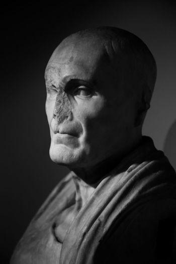 Rome Statue Adult Antiquity Blackandwhite Centralemontemartini Headshot Italy Men Museum One Man Only Portrait Sculpture