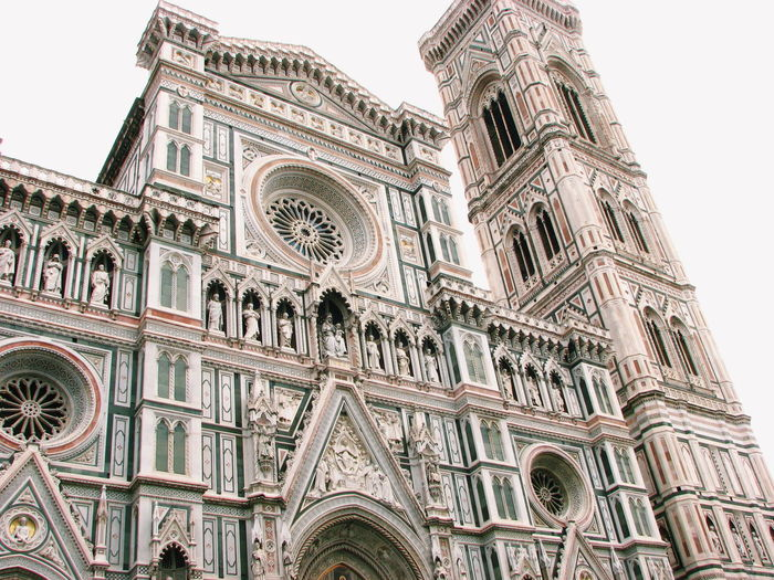 Italy Florence Italy La Cattedrale Di Santa Maria Del Fiore City Place Of Worship Spirituality Religion History Gothic Style Rose Window Architecture Building Exterior Sky