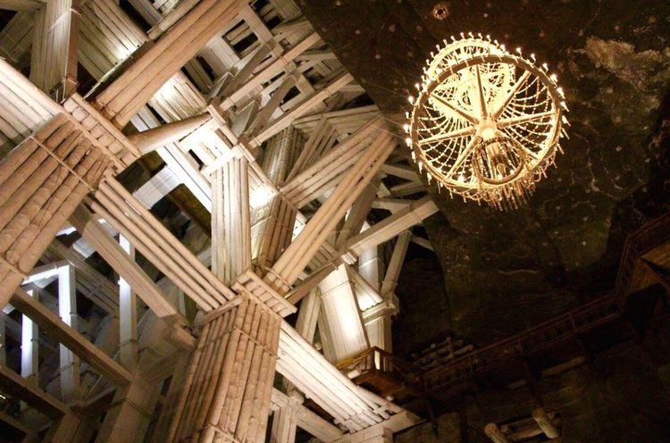 EyeEm Selects Poland Saltmine  Salt - Mineral Travel Destinations Architecture No People Wood - Material Inthemountains Canonphotography Canon Architecture Selection Selects Summertime Summer History Built Structure Selective Focus Chandelier EyeEmNewHere The Week On EyeEm