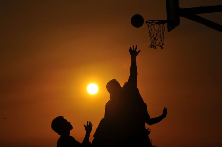 dusk ball Basketball Sunset Urbanexploration Manila, Philippines Urban Streetphotography