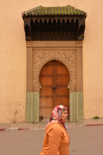 Architecture History Light Day Moroccan Culture Moroccan Woman Real People Women