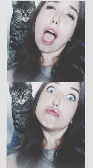 Cat Cat Love 12 Years Baby Enjoying Life Best  Fruendship AHA Mylove