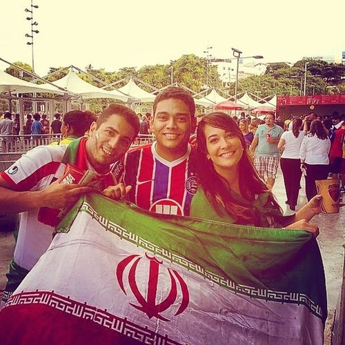 Ta tendo muita copa!! Boraa Irã!! Irãxbosnia Worldcup2014