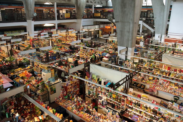Interior Of Supermarket