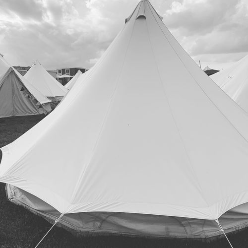 EyeEm Selects Sky Day No People Nature Low Angle View Architecture Outdoors Building Exterior Tent Cloud - Sky Built Structure Pyramid Shape Pyramid Pattern Shape Belief Modern Sunlight Travel Design
