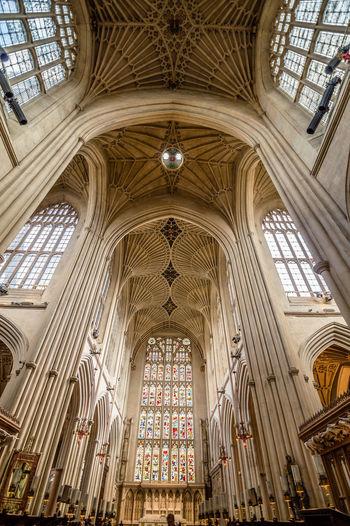 Interior Of Bath Abbey